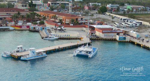 Ship~ Port in Coz Mexico