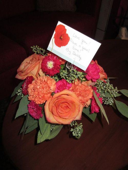 FC hubby sent me flowers