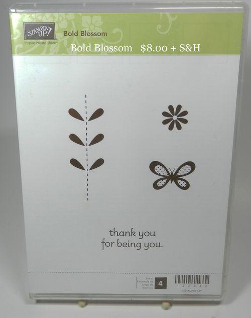 Bold Blossom 8.00 + S&H