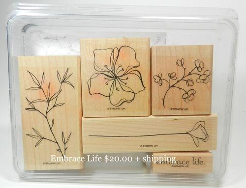 Embrace Life 20.00 + shipping