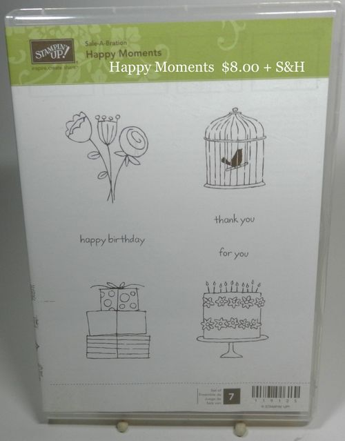 (2) Happy Moments 8.00 + S&H