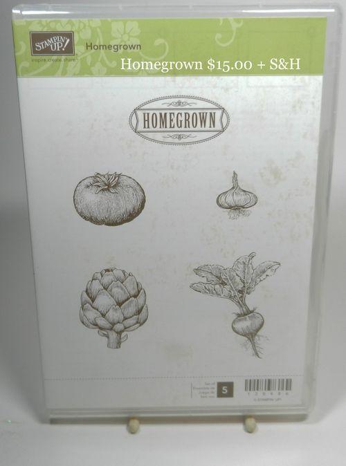 Homegrown 15.00 + S&H