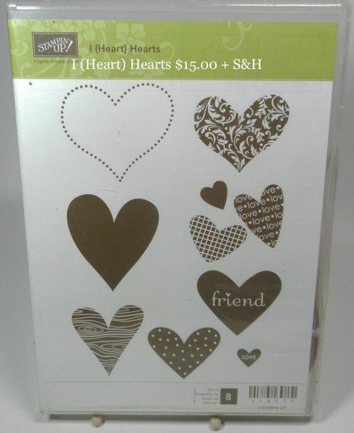 I Heart Hearts 15.00 + S&H