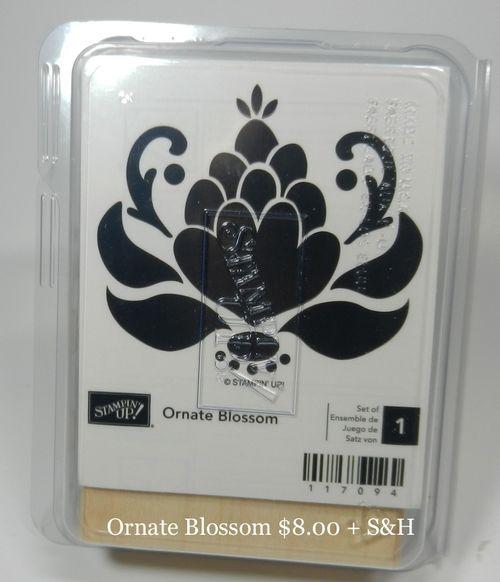 Ornate Blossom 8.00 + S&H
