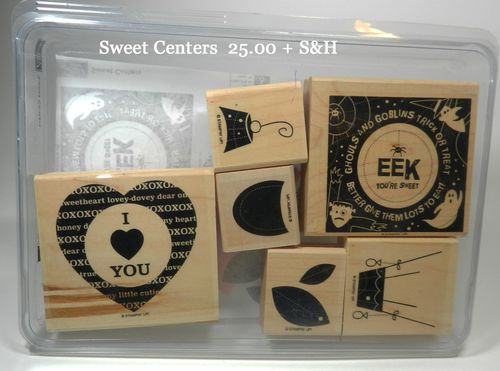 Sweet Centers 25.00 + S&H