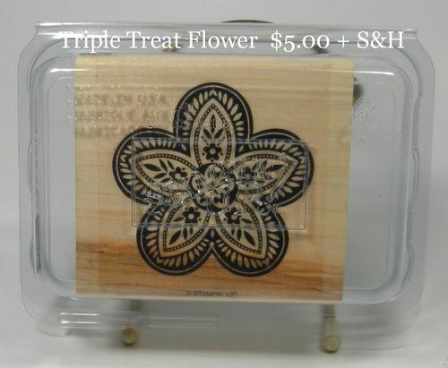 Triple Treat Flower 5.00 + S&H