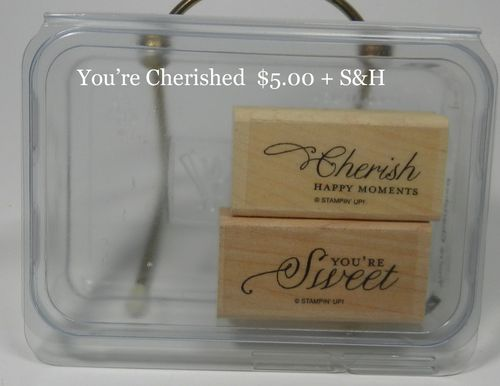 You're Cherished 5.00 + S&H