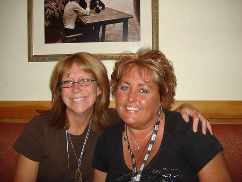 Barb & I at Olive Garden 9-17-09