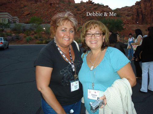 Debbie & I at Tuacahn