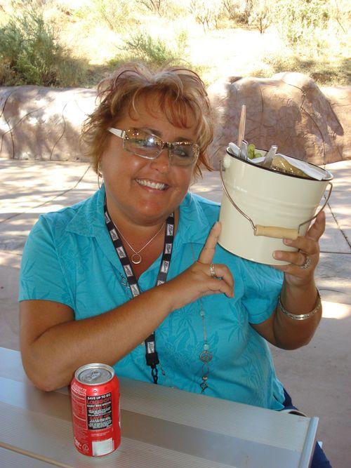 Lunch bucket @ Kanab