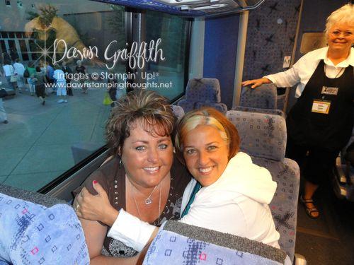 Me & Patty 2010 FC  on bus