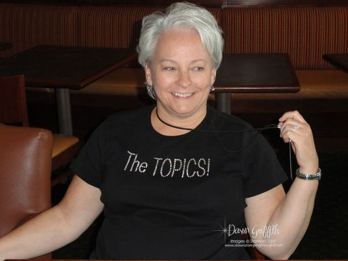 New Friend Penny Thomas and her cute shirt
