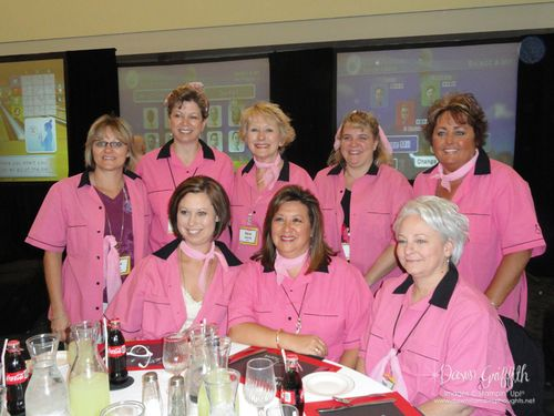 Our Fabulous Jewels team for bowling  at FC 2010