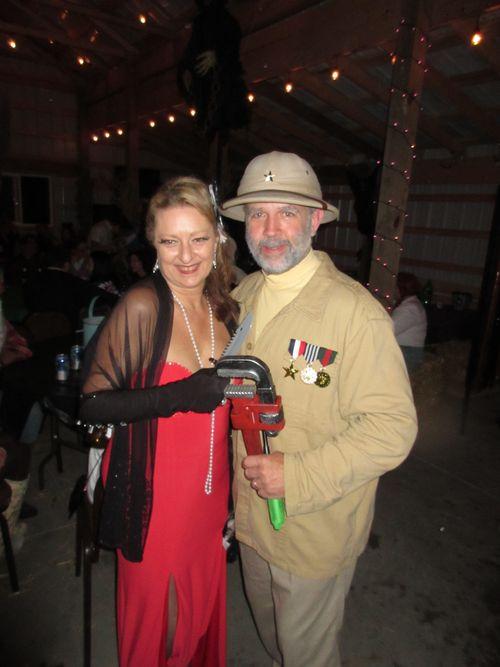Col. Mustard & Mrs  Scarlet