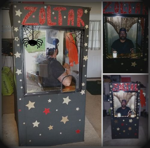 Zoltar Costume collage Dawn Griffith