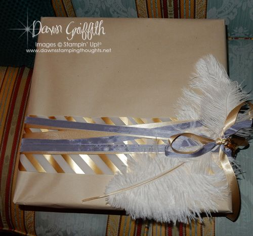 Pillow gift 2 wrapped