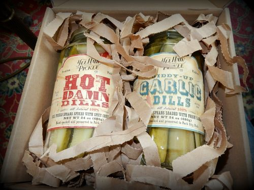 Pillow gift pickles