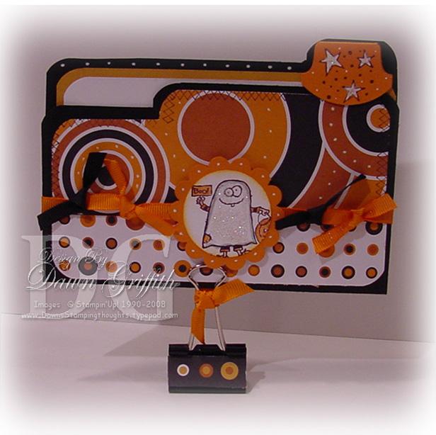 Card Files File Folder Card Halloween